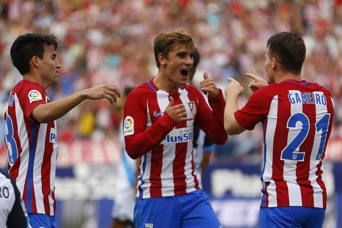 Griezmann, Atlético de Madrid x Deportivo La Coruña (Foto: AP Photo/Francisco Seco)
