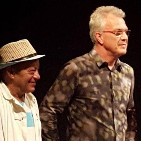 Mano Melo e Pedro Bial (Foto: Divulgação)