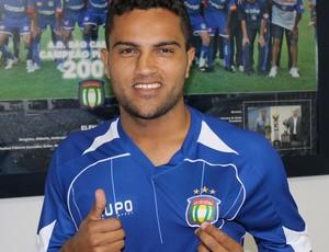 Vandinho, atacante do São Caetano (Foto: Divulgação)