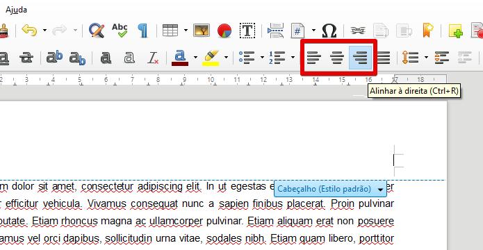 Posicione o cursor do texto no local desejado (Foto: Reprodução/Helito Bijora)