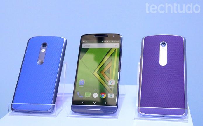 Moto X Play é lançado em evento global pela Motorola (Foto: Nicolly Vimercate / TechTudo)