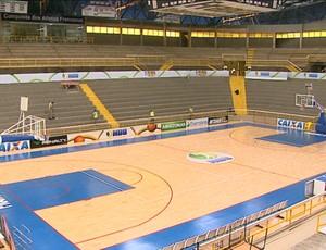 Ginásio Pedrocão estará lotado para o Jogo das Estrelas (Foto: Reprodução EPTV)