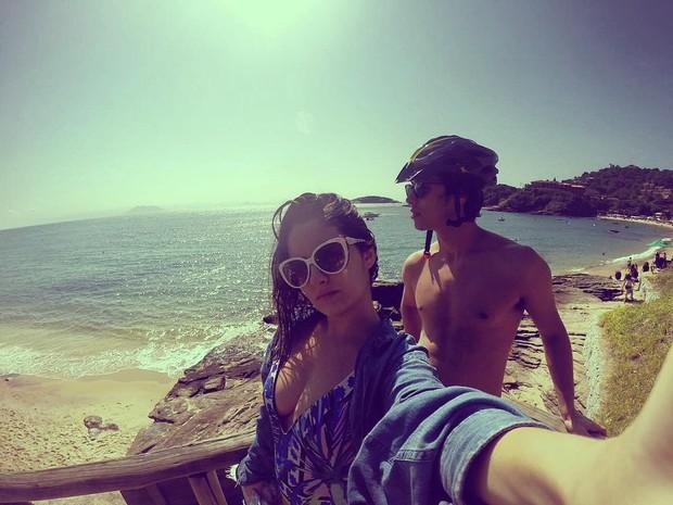 Amanda de Godoi e Francisco Vitti (Foto: Reprodução/Instagram)