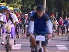 Pedal da Inclusão promove passeio de bicicleta para deficientes visuais