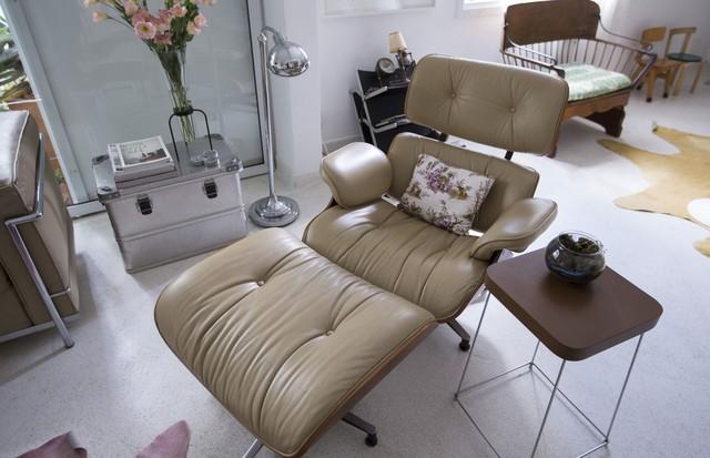 Repare como as cadeiras de criança ficam um charme no canto da sala (Foto: Rafael Avancini)