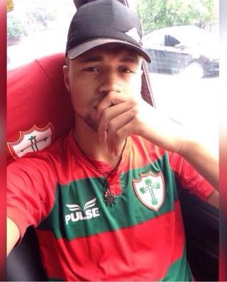 Lucas Santos Jogador Portuguesa (Foto: Arquivo da Família)