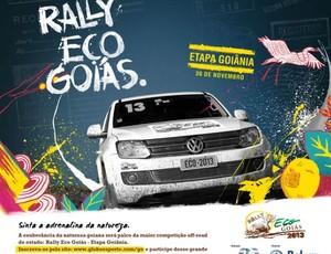 Rally Eco Goiás - Etapa de Goiânia (Foto: Divulgação)