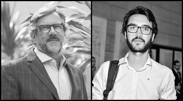 Leo Figueiredo e Gustavo Fuga: estrelas do Festival de Cultura Empreendedora (Foto: Reprodução)