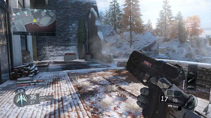 Call of Duty Black Ops 3: jogamos a versão beta; confira as impressões (Foto: Reprodução/Murilo Molina)