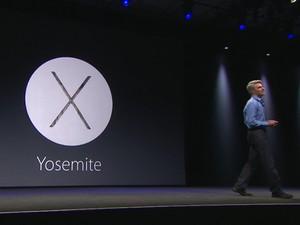 Apple apresenta sistema dos Macs, Mac OS X Yosemite (Foto: Divulgação/Apple)