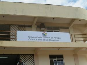 Campus binacional em Oiapoque fica na divisa com a Guiana Francesa (Foto: Divulgação/Unifap)