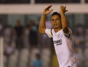 Cícero gol Santos (Foto: Leandro Martins / Ag. Estado)