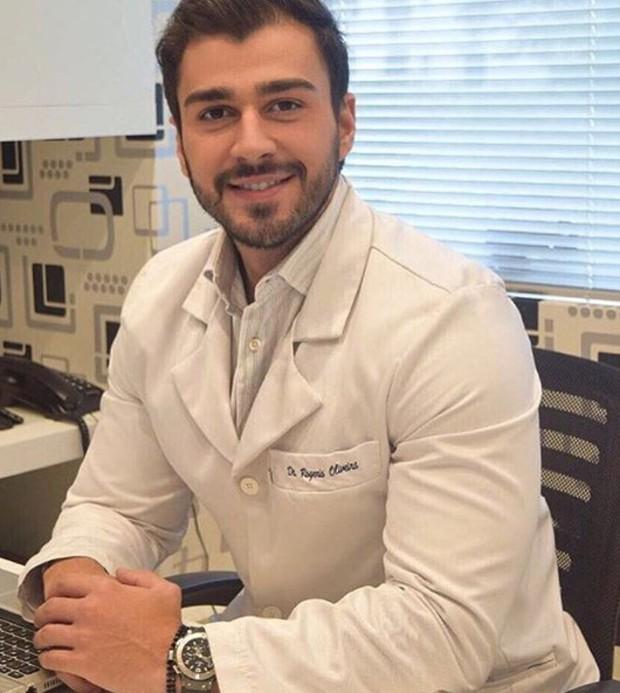 O nutricionista Rogério Oliveira, namorado de Ellen Rocche (Foto: Reprodução/Instagram)