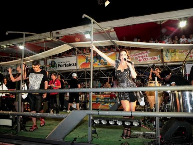 Ivete posa de Maria Machadão no Fortal (Foto: André Lima/ Divulgação)