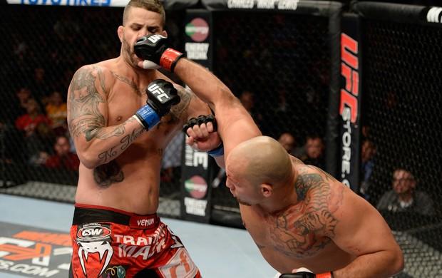 UFC Shawn Jordan e Jack May (Foto: Agência Getty Images)
