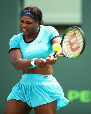 Serena Williams perde para Svetlana Kuznetsova em Miami (Foto: Getty Images)