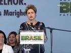 'Estamos fazendo grande esforço para controlar inflação', diz Dilma