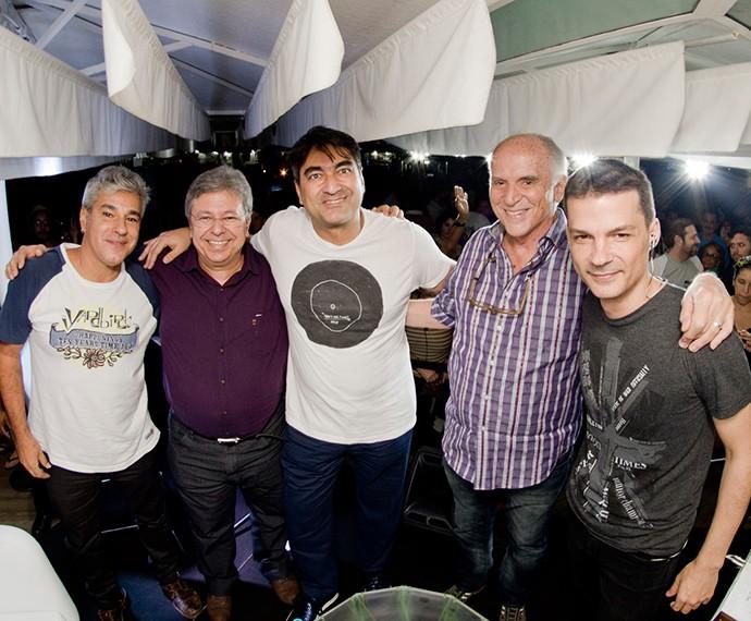 A segundo homenageado foi Renato Russo, o jornalista Zeca Camargo comandou o encontro (Foto: Divulgação)