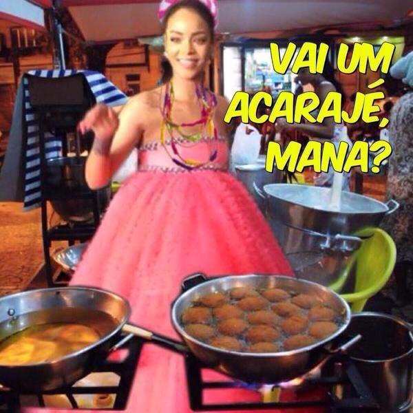 Rihanna (Foto: Facebook / Reprodução)