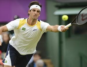 Thomaz Bellucci tênis Wimbledon Londres 2012 1r (Foto: AFP)