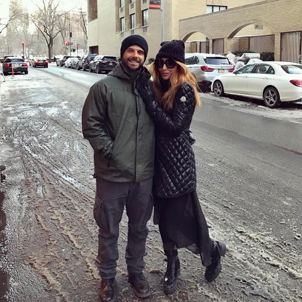Duda Nagle e Sabrina Sato em Nova York, nos Estados Unidos (Foto: Instagram/ Reprodução)