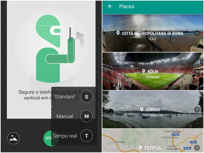 Panorama 360 é gratuito e está disponível para Android (Foto: Reprodução/Barbara Mannara)