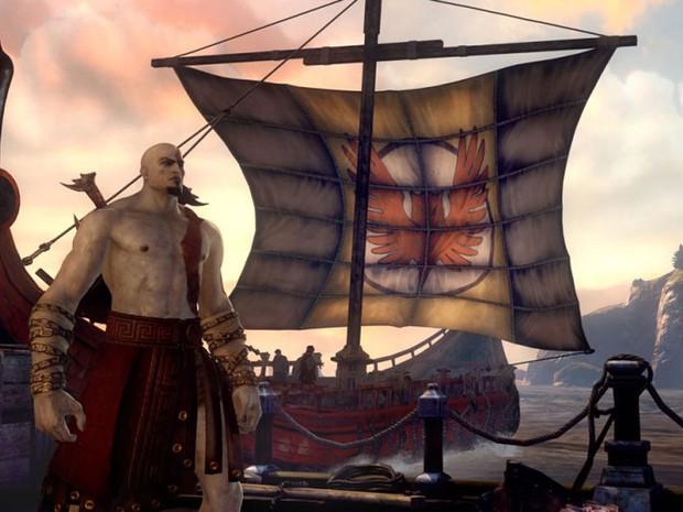 """A Sony demonstrou o novo """"God of War"""" pela primeira vez durante a E3. (Foto: Divulgação)"""
