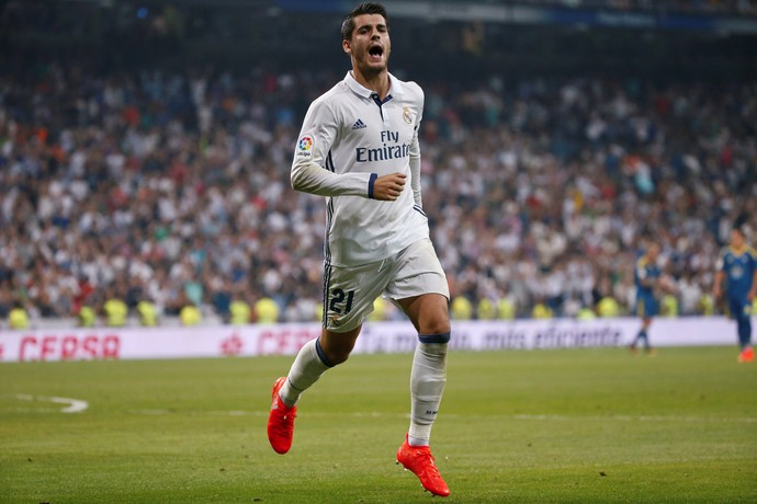 Morata Real Madrid x Celta (Foto: Reuters)