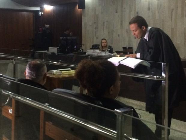 Advogado do serial killer, advogado Hérick Pereira de Lima (Foto: Murillo Velasco/ G1)