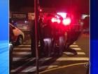 Policial é arrastado por 30 metros após ser atropelado em Araçatuba