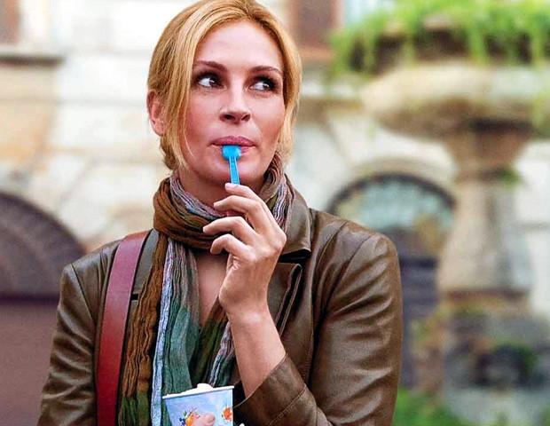 """Julia Roberts em cena do filme """"Comer, Rezar, Amar"""" (Foto: Divulgação)"""