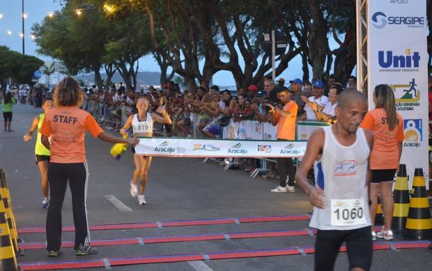 Baiana Graciete foi a vencedora entre as mulheres (Foto: Thiago Barbosa)