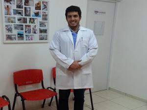 Médico veterinário Murilo Kleist (Foto: Arquivo pessoal)