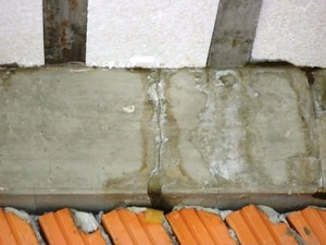 Rachadura no prédio da Uerr em Mucajaí (Foto: Maria José (Sindicato dos Servidores da Uerr))