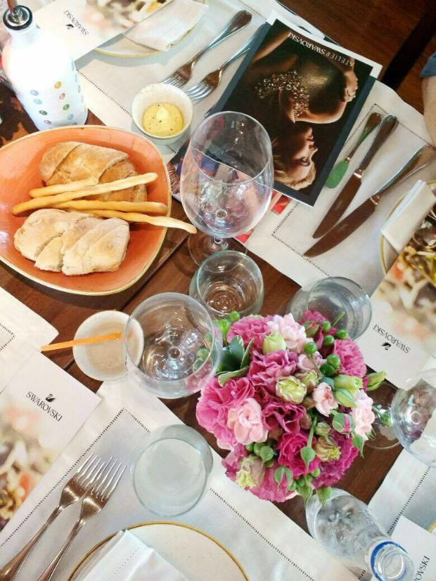 Almoço de confraternização da Swarovski com a Marie Claire aconteceu no restaurante Piselli Sud (Foto: Reprodução / Instagram)