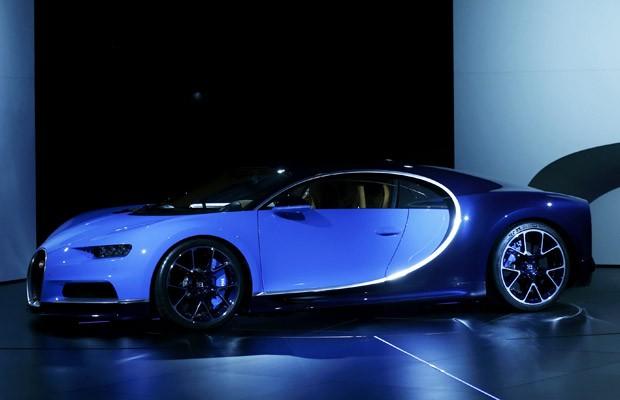 Bugatti apresenta o Chiron, sucessor do Veyron, em Genebra (Foto: Denis Balibouse/Reuters)