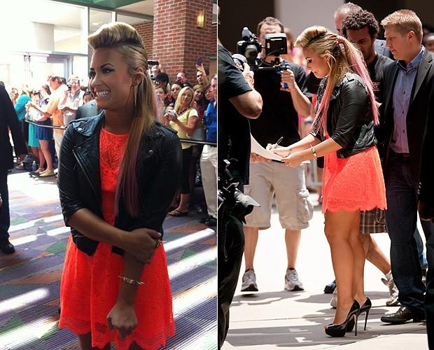 Demi Lovato (Foto: Reprodução/Facebook e Getty Images)
