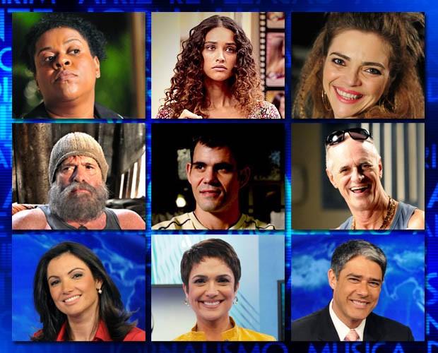 Indicados (Foto: Domingão do Faustão / TV Globo)