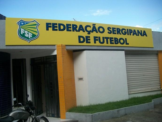Federação Sergipana de Futebol é assaltada (Foto: Barroso Guimarães)