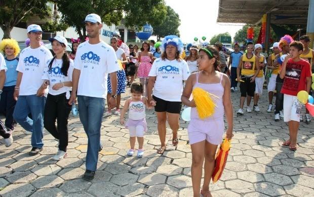 Caminhada é uma das atividades do Esporte e Cidadania, deste sábado  (Foto: Divulgação)