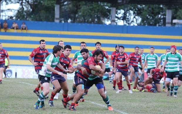 São José Rugby em partida contra Farrapos (Foto: Adenir Britto)
