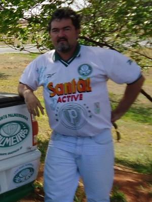 Carro torcedor palmeirense (Foto: Arquivo pessoal)
