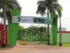 Ifro oferece mais de 300 vagas para processo seletivo do Sisu em RO