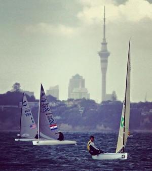 Jorge Zarif Mundial de vela Auckland (Foto: Reprodução / Facebook CBVela)
