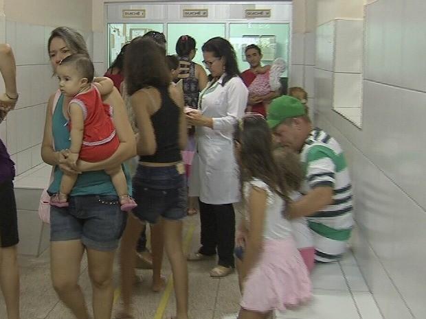 Fortaleza inicia campanha contra o sarampo nesta segunda-feira (27) (Foto: TV Verdes Mares/Reprodução)