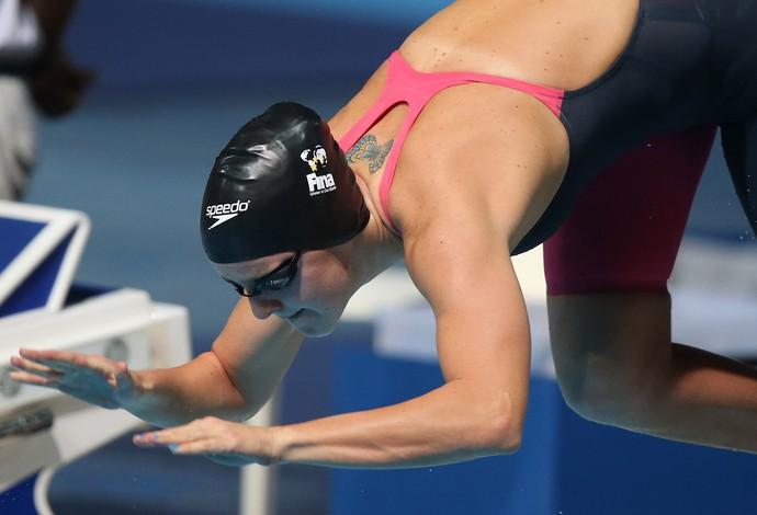Carol Bilich, da natação (Foto: Satiro Sodre/SSPress)