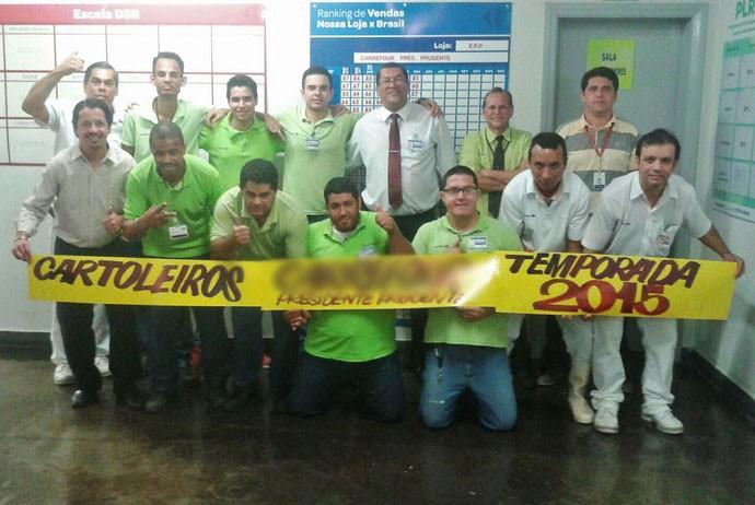 Grupo foi criado em 2011 com o objetivo de 'tirar sarro' entre os amigos (Foto: Carlos Alberto Sampaio / Arquivo pessoal)