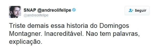 Felipe Andreoli (Foto: Twitter / Reprodução)