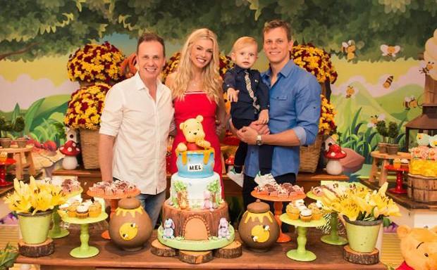 Aniversário de dois anos de Thomas, filho de Cesar Cielo e Kelly Gisch (Foto: Reprodução/Instagram)