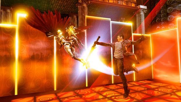 Herói do novo jogo 'DmC', da franquia da Capcom, mudou definitivamente (Foto: Divulgação)